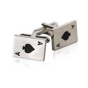 cards cufflinks
