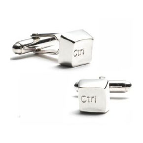 control button cufflinks