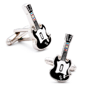 guitarherocufflinks