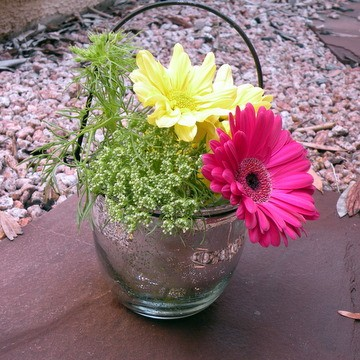 Hang them or use them as small centerpieces For weddings rehearsal