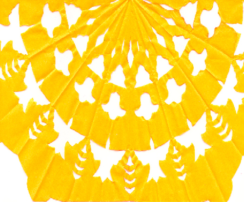 tissue paper yellow