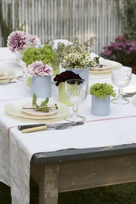 rustic centerpieces she walks in beauty